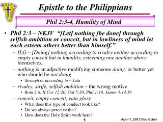Epistle to the Philippians