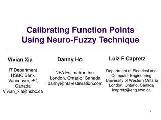 Calibrating Function Points  Using Neuro-Fuzzy Technique