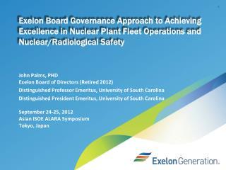 Exelon board of directors