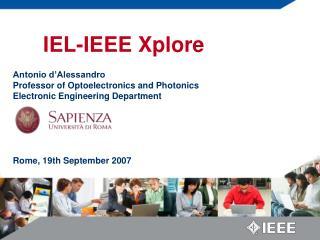 IEL-IEEE Xplore