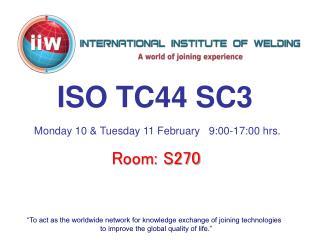 ISO TC44 SC3