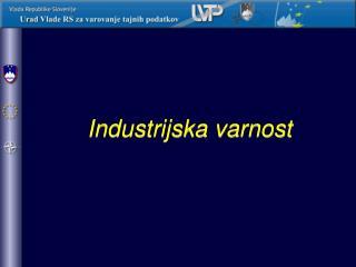 Industrijska varnost