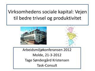 Virksomhedens sociale kapital: Vejen til bedre trivsel og produktivitet