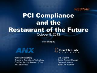 PCI Compliance and the  Restaurant of the Future