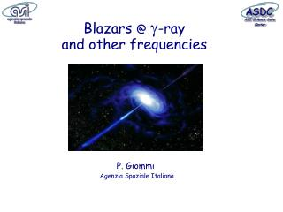 Blazars  @  -ray  and other frequencies