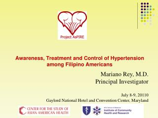 Awareness, Treatment and Control of Hypertension among Filipino Americans