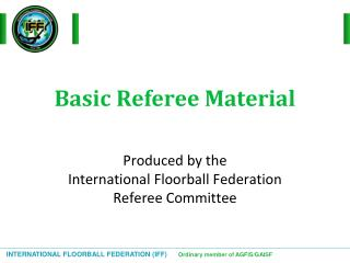 Basic Referee Material