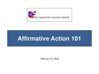 Affirmative Action 101