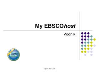 My EBSCO host