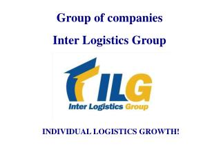 Group of companies Inter Logistics Group