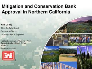 Mitigation and Conservation Bank Approval in Northern California