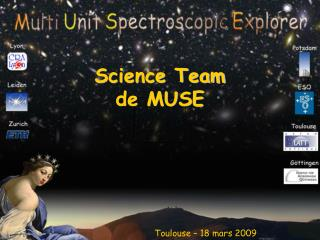 Science Team  de MUSE
