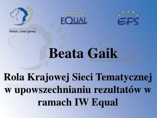 Beata Gaik