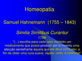 Similia  Similibus Curantur 1796
