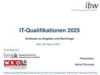 IT-Qualifikationen 2025 Analysen zu Angebot und Nachfrage