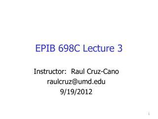 EPIB 698C Lecture 3
