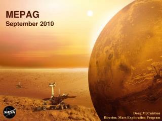 MEPAG September 2010