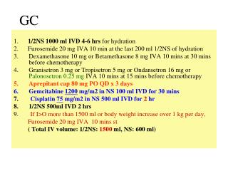 1.       1/2NS 1000 ml IVD 4-6 hrs  for hydration