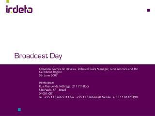 Broadcast Day