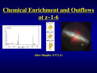 Chemical Enrichment and Outflows at z~1-6