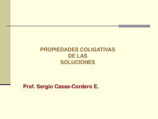 Prof. Sergio Casas-Cordero E.