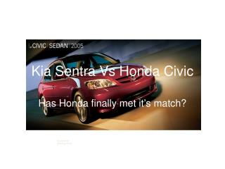 Kia Sentra Vs Honda Civic
