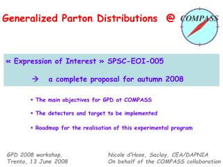 Generalized Parton Distributions  @