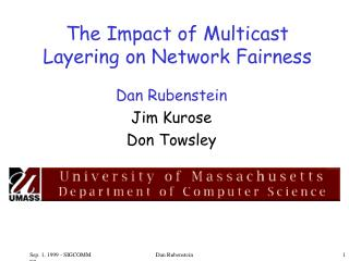 The Impact of Multicast Layering on Network Fairness