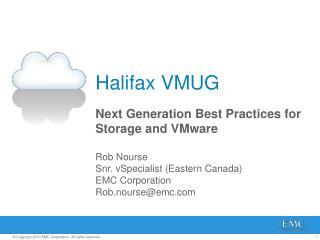 Halifax VMUG