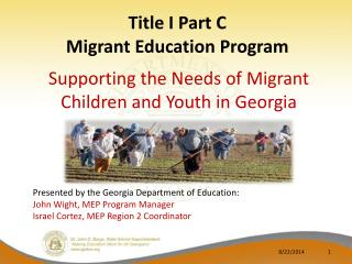 Title I Part C Migrant Education Program