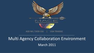 Multi Agency Collaboration Environment