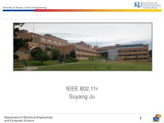 IEEE 802.11r  Suyang Ju