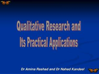 Dr Amina Rashad and Dr Nahed Kandeel