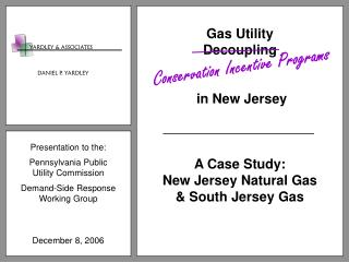 Presentation to the: Pennsylvania Public Utility Commission Demand-Side Response Working Group