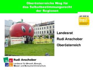 Oberösterreichs Weg für  das Selbstbestimmungsrecht  der Regionen