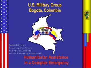 U.S. Military Group Bogota, Colombia