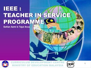 IEEE :  TEACHER IN SERVICE  PROGRAMME
