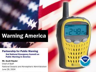 Warning America