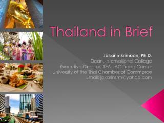 Thailand in Brief