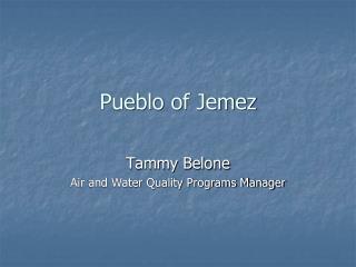 Pueblo of Jemez