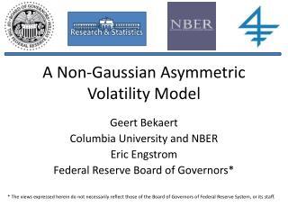 A Non-Gaussian Asymmetric Volatility Model