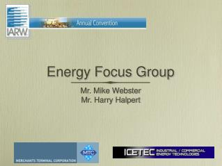Energy Focus Group