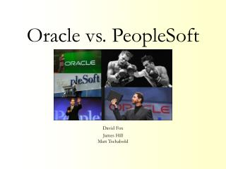 Oracle vs. PeopleSoft