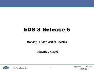 EDS 3 Release 5
