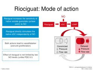 Riociguat: Mode of action