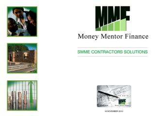 SMME Contractors solution