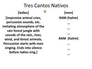Tres Cantos Nativos