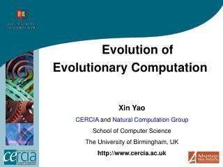 Evolution of  Evolutionary Computation
