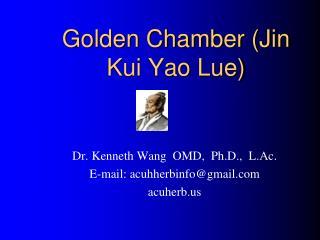 Golden Chamber (Jin Kui Yao Lue)