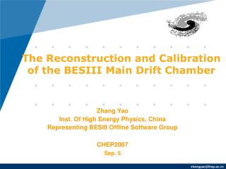 The Reconstruction and Calibration  of the BESIII Main Drift Chamber